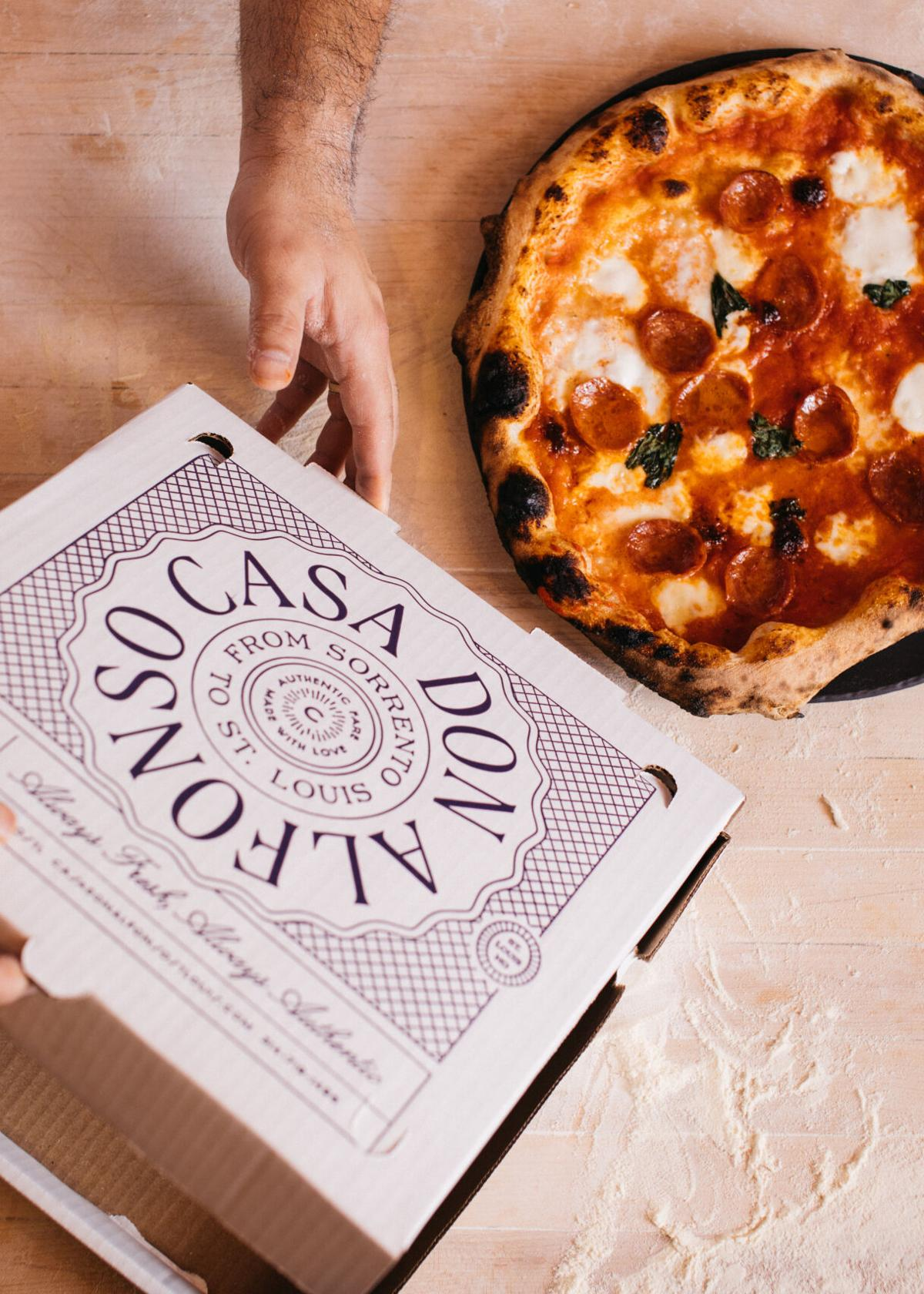 Casa don Alfonso pizza