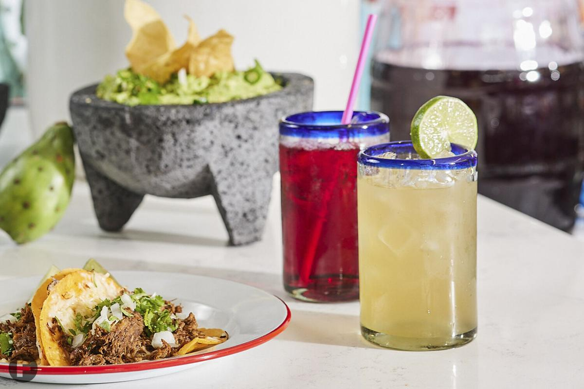Red Kitchen KC drinks and taco