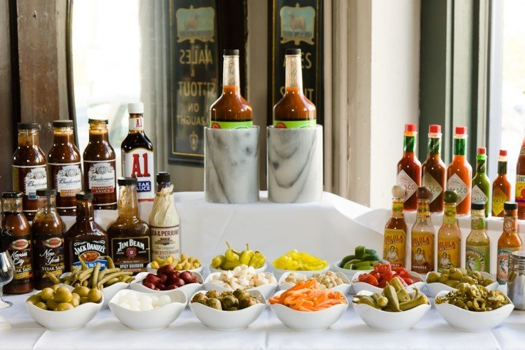 How To Build Your Own Bloody Mary Bar | | Feast Magazine