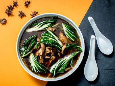 Pork and Bok Choy Soup
