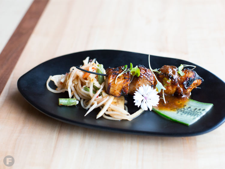 At Tribe Street Kitchen Lance Gipson Offers Dishes From