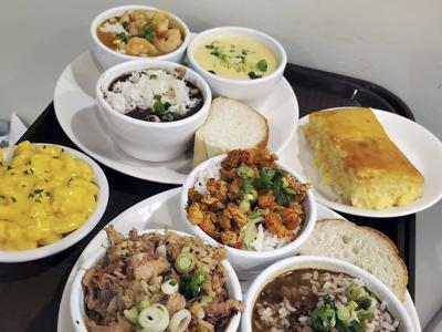 Southern Kitchen Sampler Platter