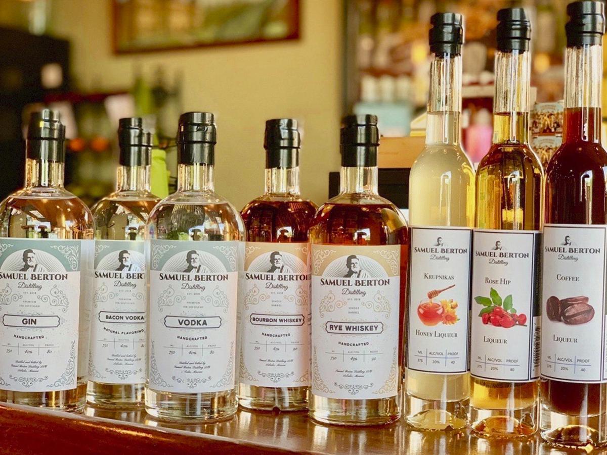 Samuel Berton Distilling Spirits