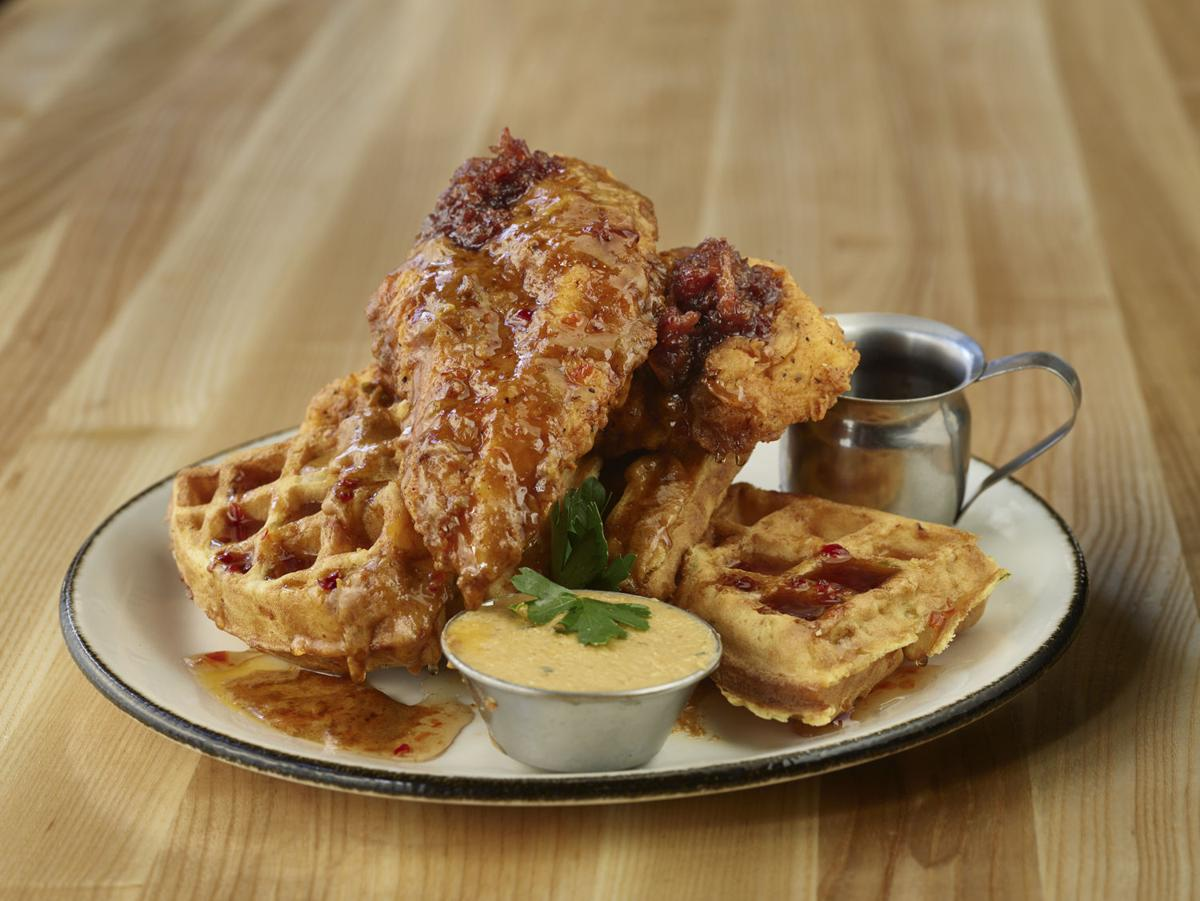 Mickey's Hideaway Chicken and Waffle