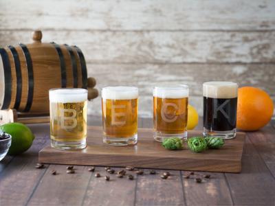 Beck Flavors Beer flight