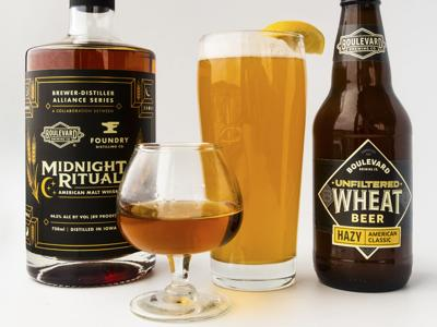 Boulevard Brewing Co. Midnight Ritual Malt Whiskey