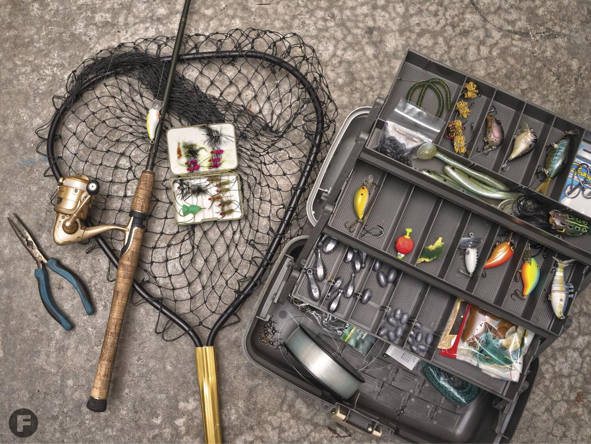 Fishing crash course gear