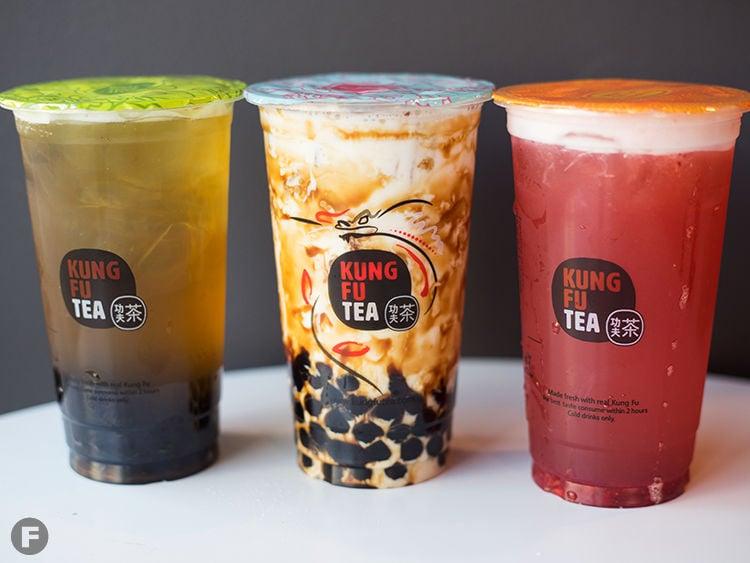 Kung Fu Tea Drinks