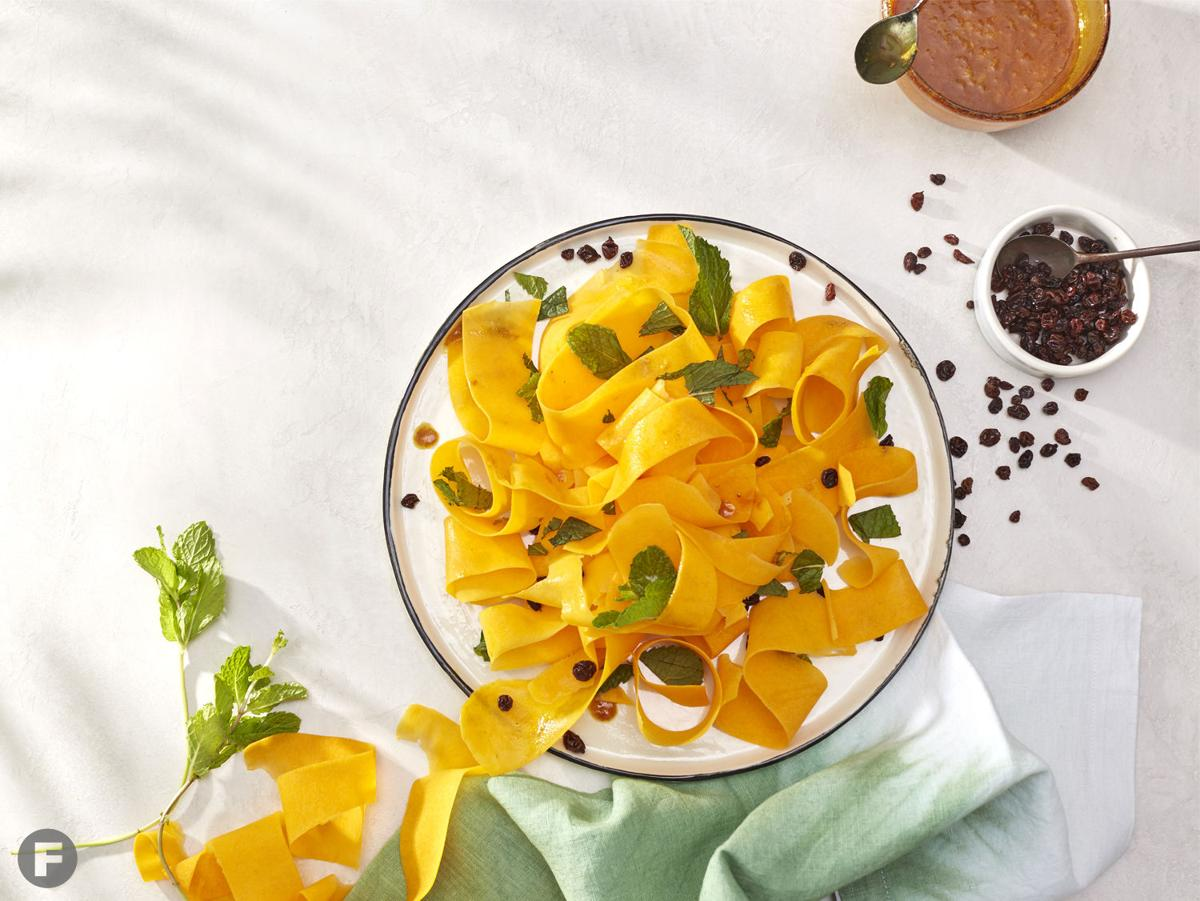 Moroccan-Spiced Butternut Ribbons