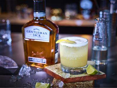 Gentleman Jack Whiskey Sour