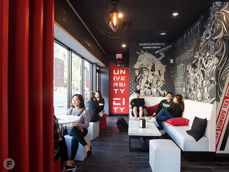 Kung Fu Tea Interior