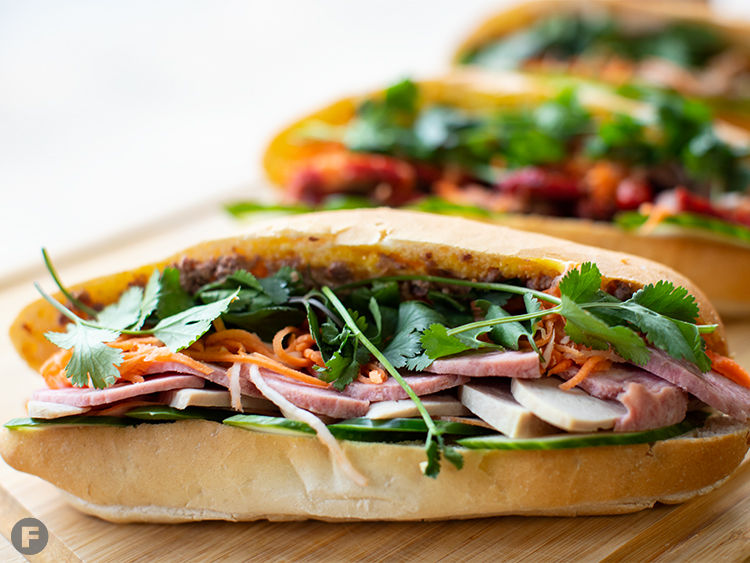 The Banh Mi Shop Sandwiches