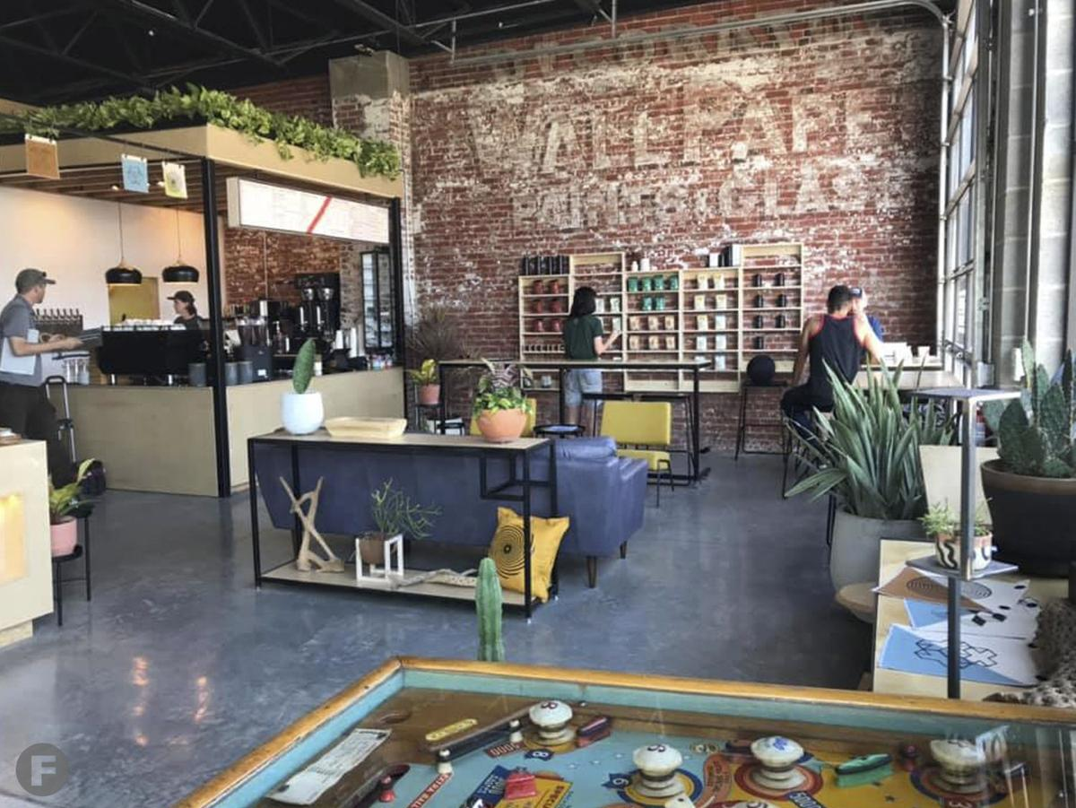 Thee Outpost Interior