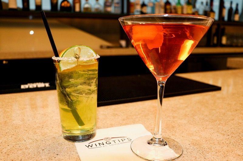 Wingtips Lounge Cocktails