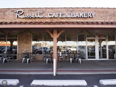 Russell's Bakery & Cafe Exterior