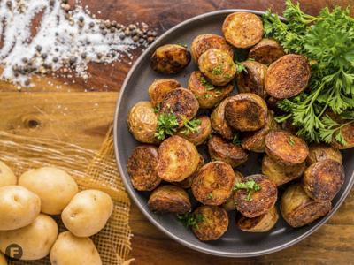 DUCKCHAR duck fat roasted potatoes