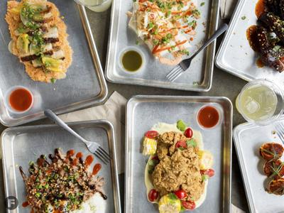Guerrilla Street Food Dishes