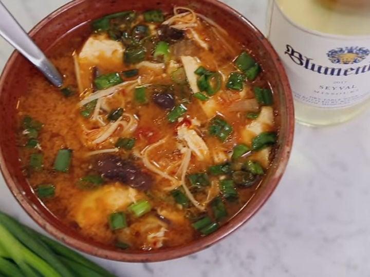 Korean-Style Kimchi and Tofu Stew