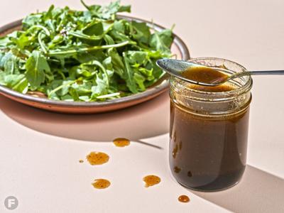 Anya's Balsamic Onion Honey Vinaigrette