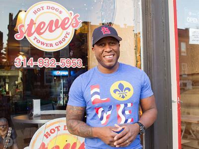 Steve's Hot Dogs Steve Ewing
