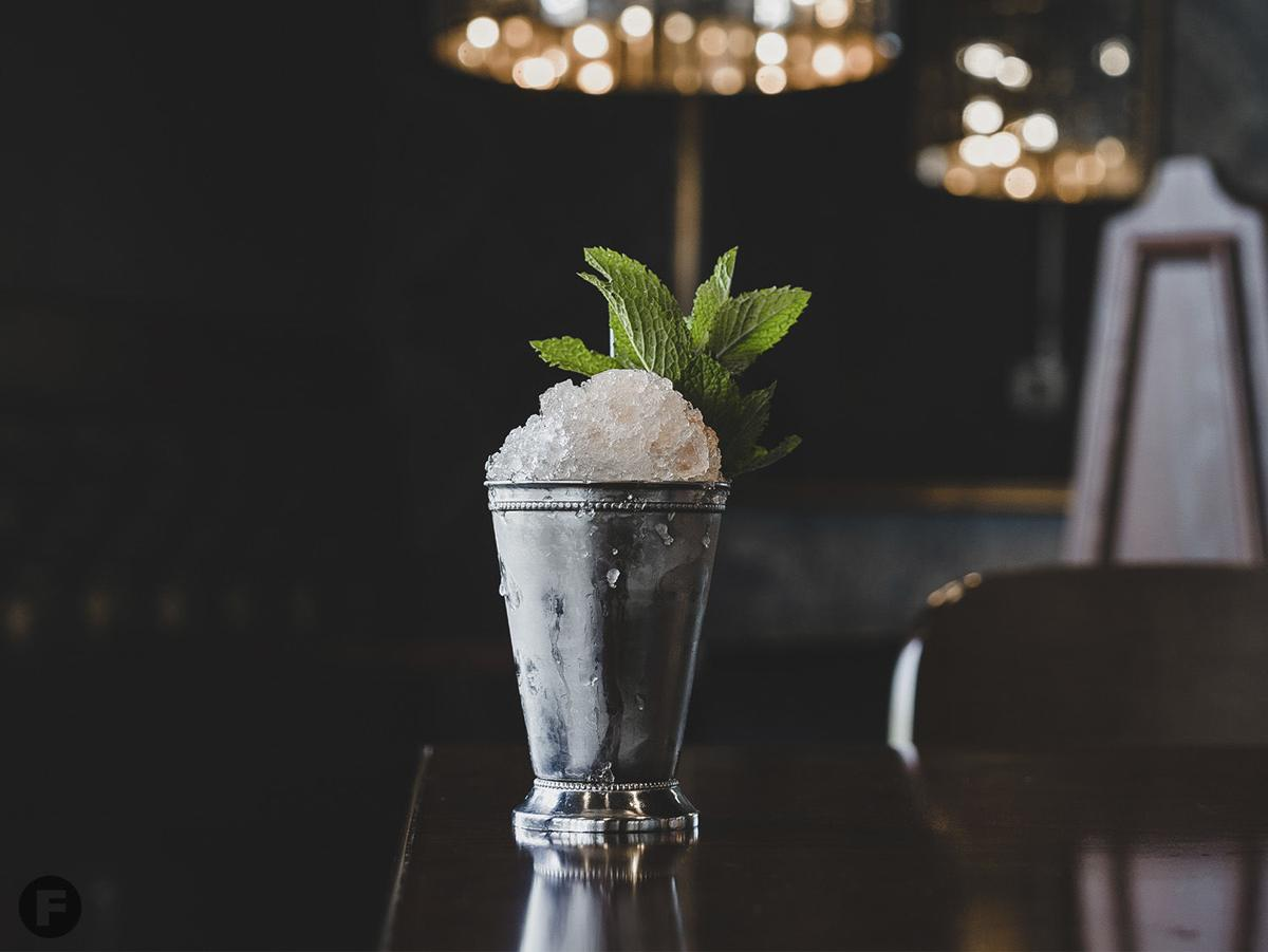 Mint Julep at The Train Shed