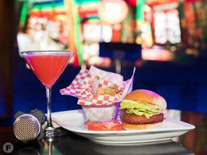 The W Karaoke Dishes