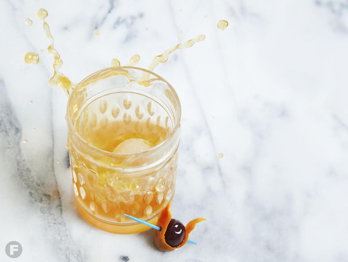 Old-Fashioned with Infused Whiskey