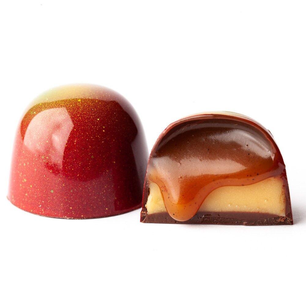 Bliss Chocolatier caramel apple bonbon