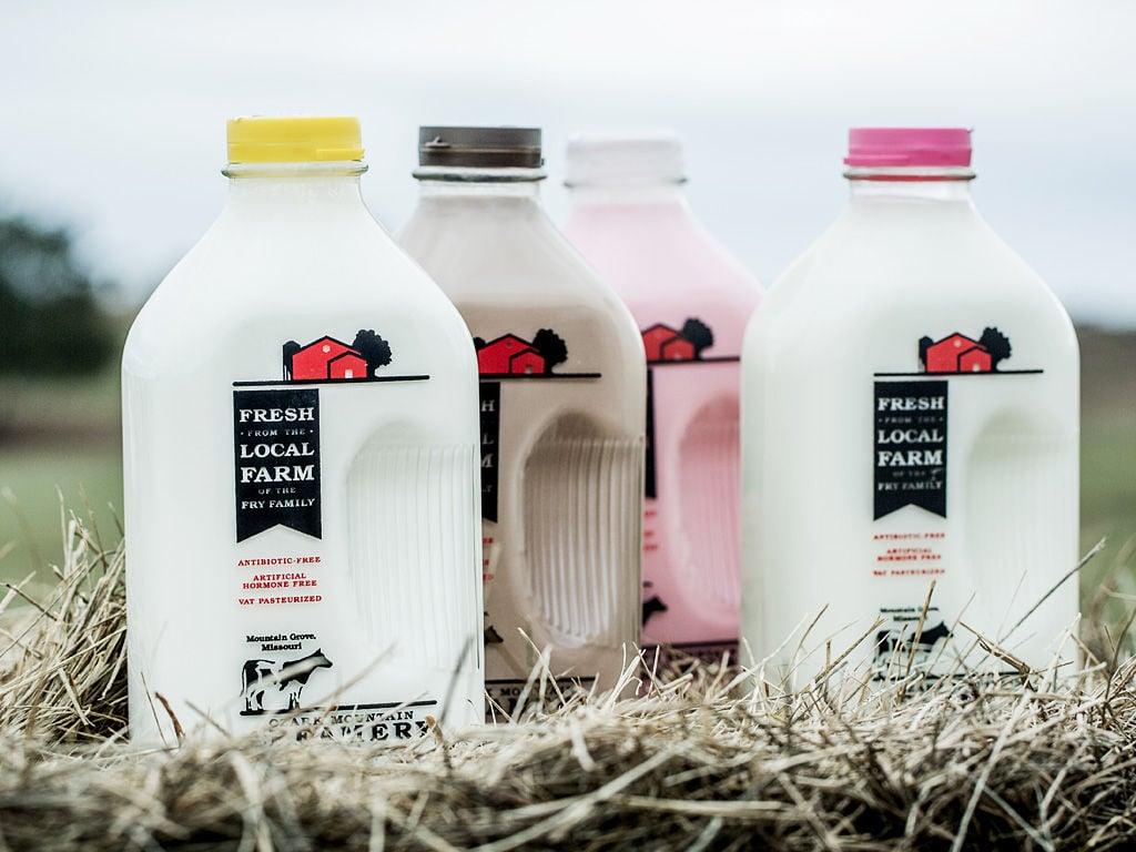 Ozark Mountain Creamery Milk
