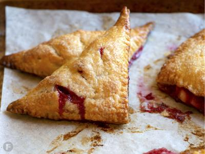 Spiced Plum Turnovers