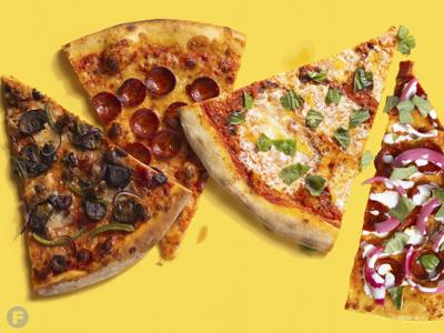 Pizza Tree Slices