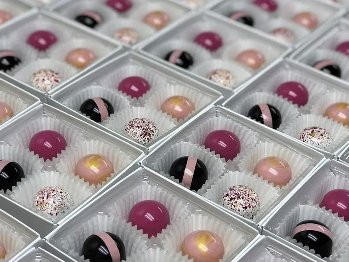 The Black Pantry Chocolates