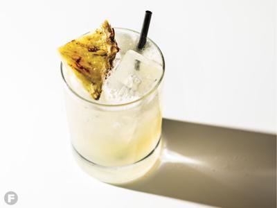 Nan's Bay (NA Banana-Bay Leaf Cocktail)