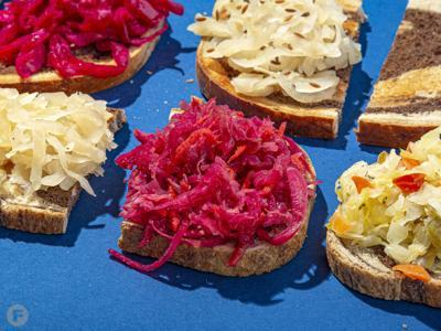 Midwest Made sauerkraut