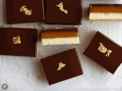 Salted Caramel Millionaire Bars