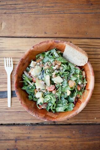 Green Bean's turducken salad