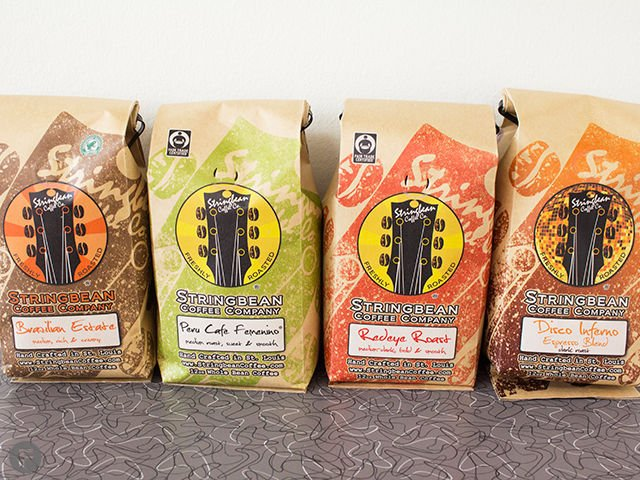 Stringbean Coffee Co. Coffees