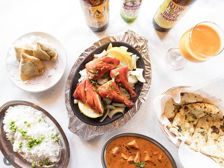 India Palace Dishes