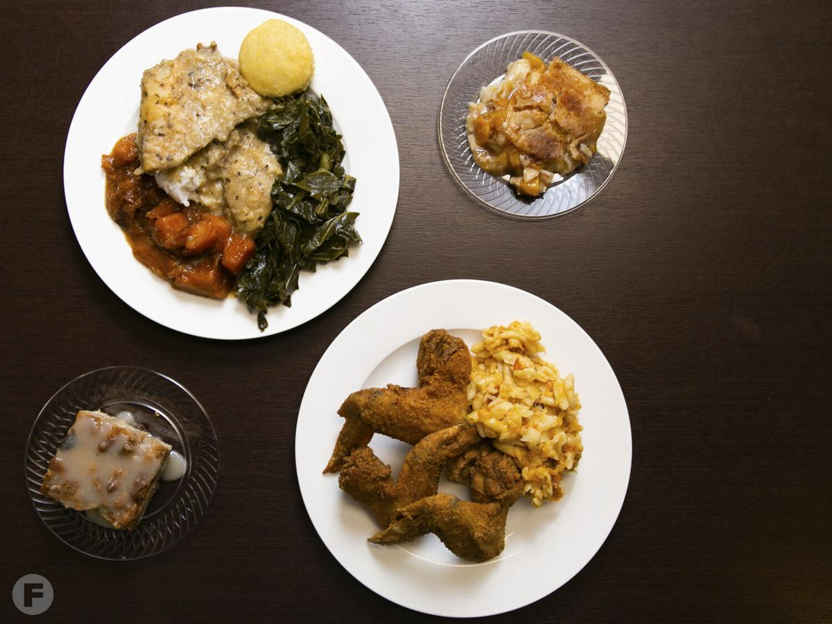 Queen City Soul Kitchen dishes