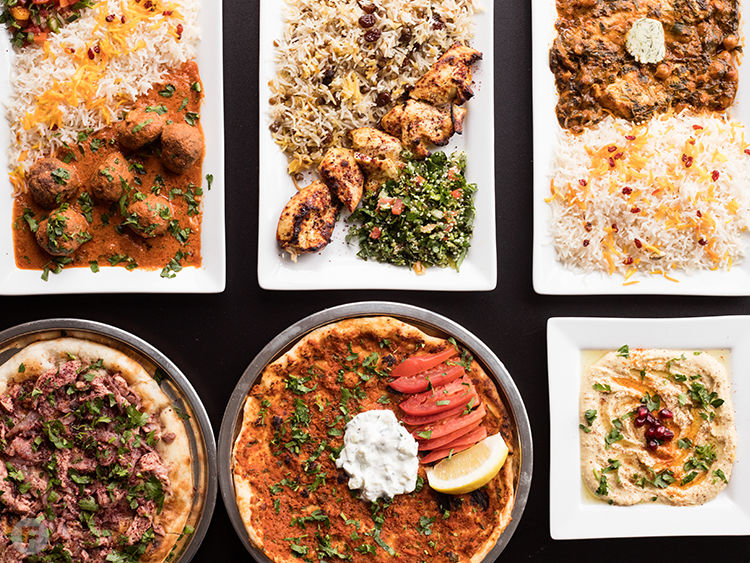 Sultan Mediterranean Cuisine Dishes