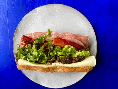 Classic Italian Sandwich from The Strollway Market