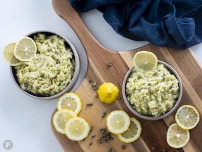 Lemon-Parsley Root Mashed Potatoes