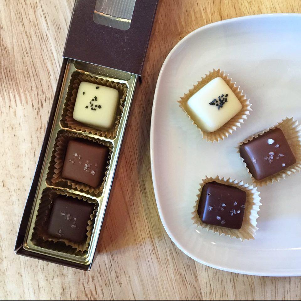 Kakao Chocolate Sea Salt Caramels