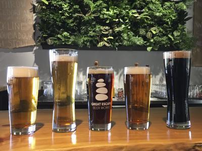 Great Escape Beer Works Beers