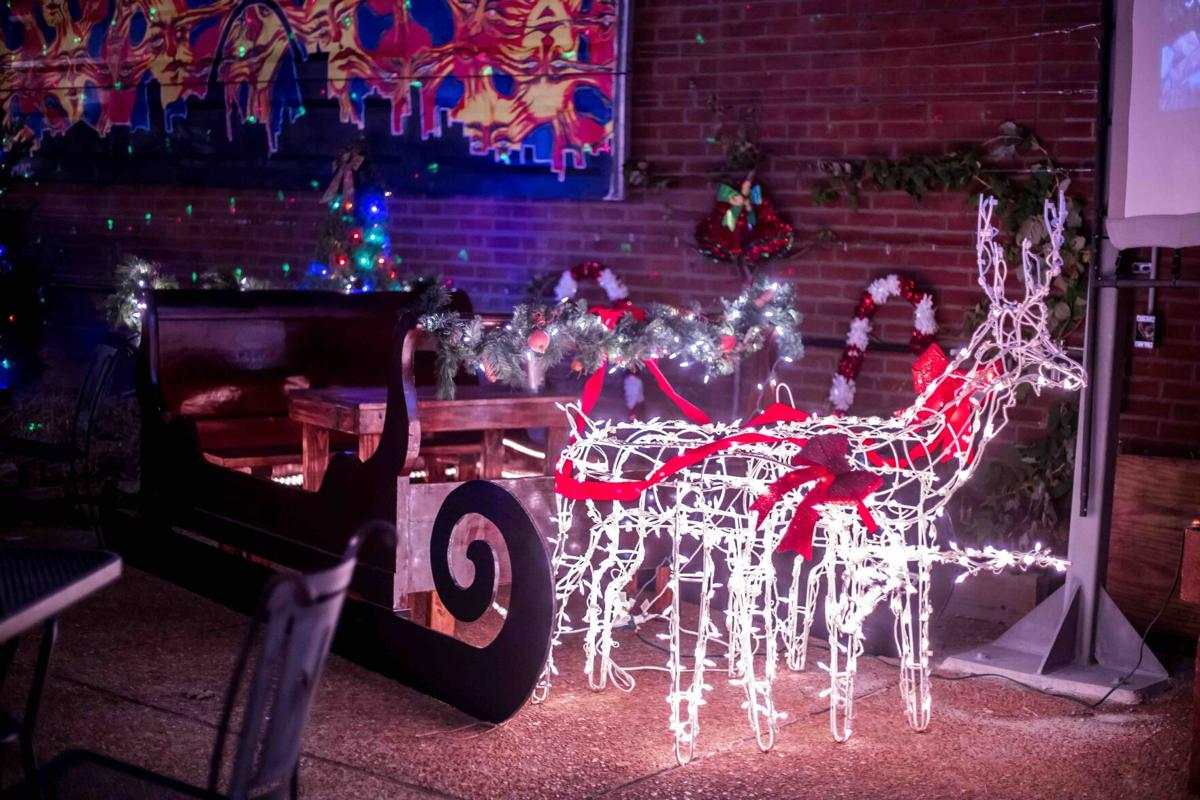The Royale sleigh decorations
