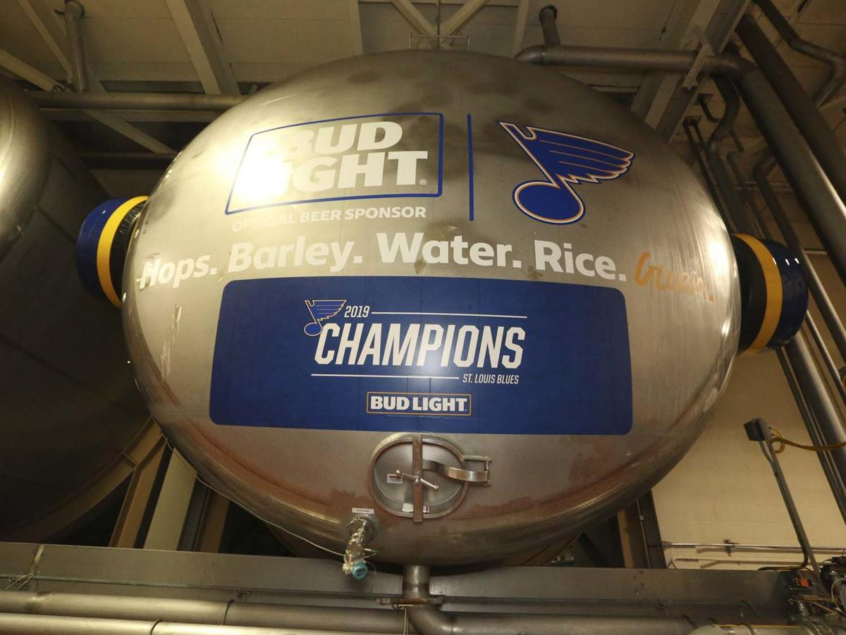 Bud Light's Gloria Brew on Display at the Anheuser-Busch St. Louis Brewery