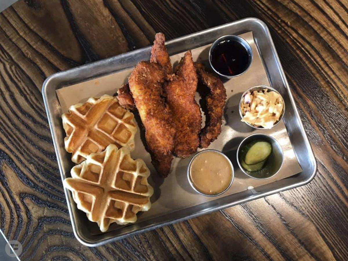 Blade & Timber  Chicken and Waffles