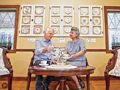 Botanical Tea Room Owners