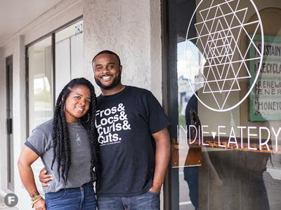 Indie Eatery Shannon and AJ Thompson