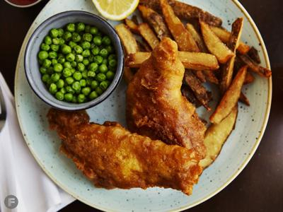 Farmers Gastropub Fish and Chips